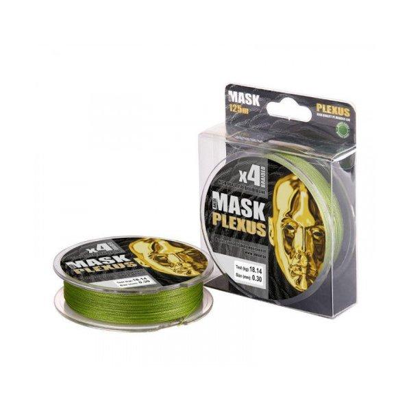 Шнур Akkoi Mask Plexus X4 125/0,14 (Green)
