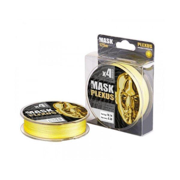 Шнур Akkoi Mask Plexus X4 125/0,28 (Yellow)