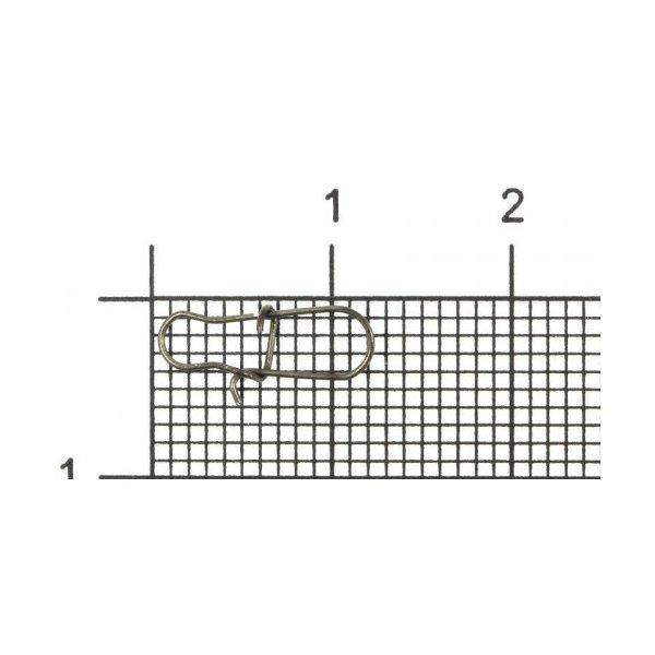 Карабин Metsui Duo Lock Snap #0 (6 кг.)
