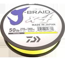 Шнур Daiwa J-Braid X4 135 м